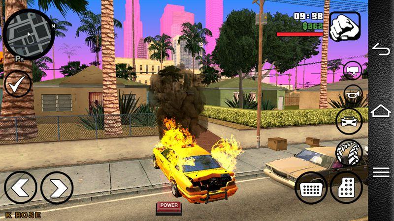 GTA San Andreas GTA IV Carfire for Android Mod - MobileGTA net