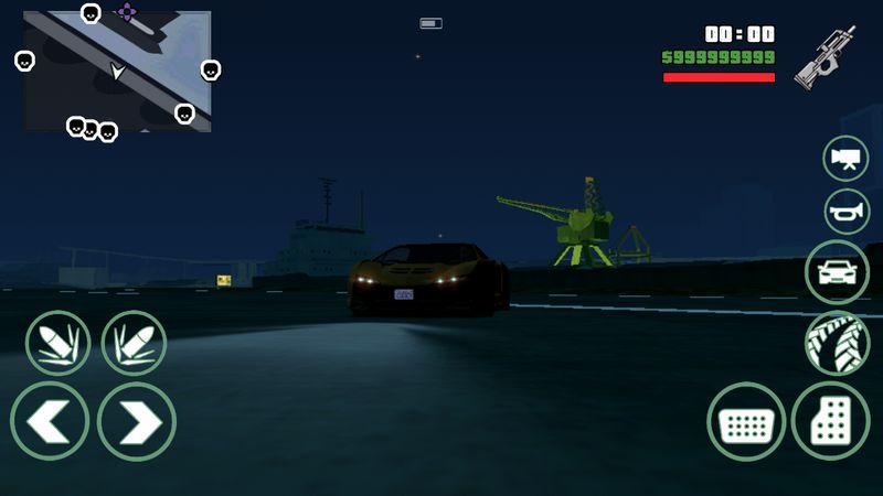 GTA San Andreas V I S A2v1 2 - GTA SA Android GTA V Patch Mod