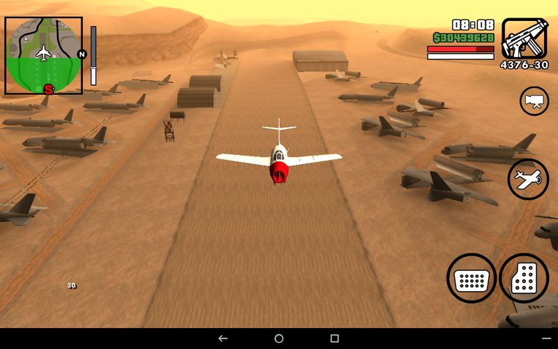 GTA San Andreas MiG-15 Airplane for Android (no txd) Mod