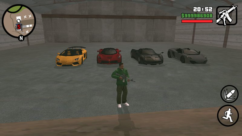 The gta place gta san andreas save game ios 100% completed (updated).