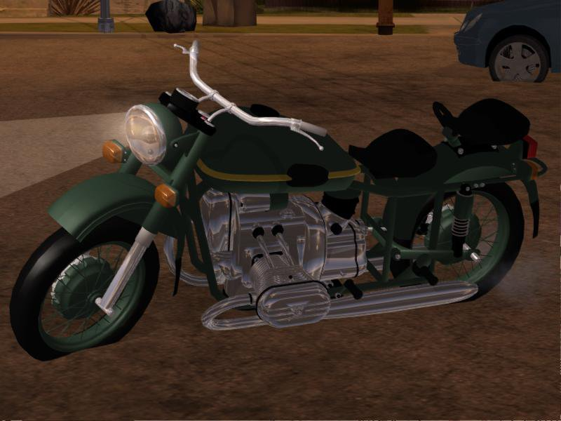 GTA San Andreas Ural M67 Bike for Android Mod - MobileGTA net