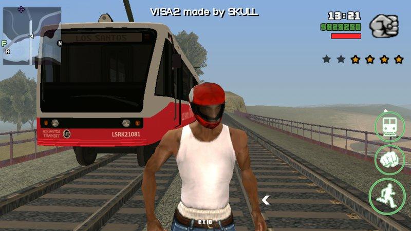 GTA San Andreas GTA V Train for Android Mod - MobileGTA net