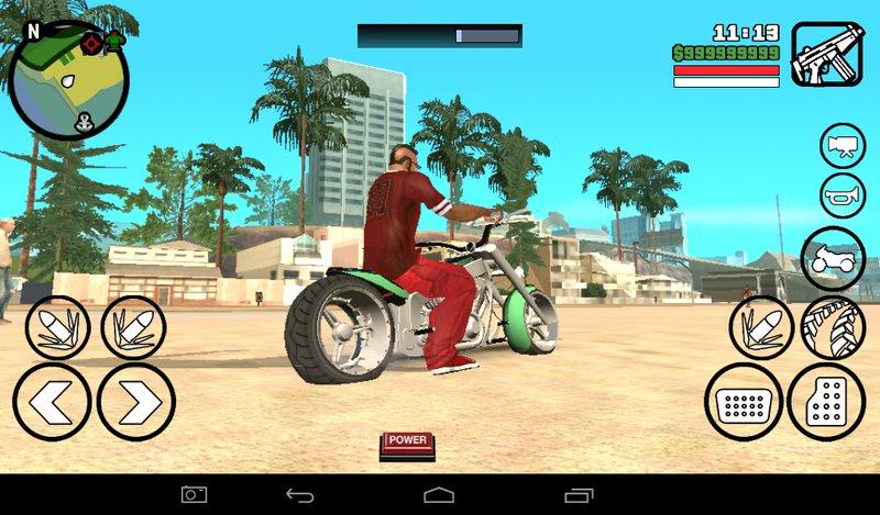 GTA San Andreas LLC Innovation Copper GTA 5 Bike For Android