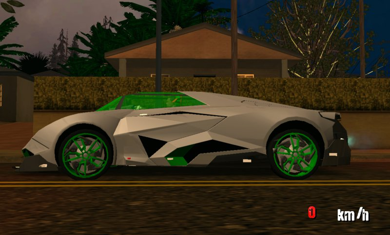 Gta San Andreas Lamborghini Egoista For Mobile Mod Mobilegta Net
