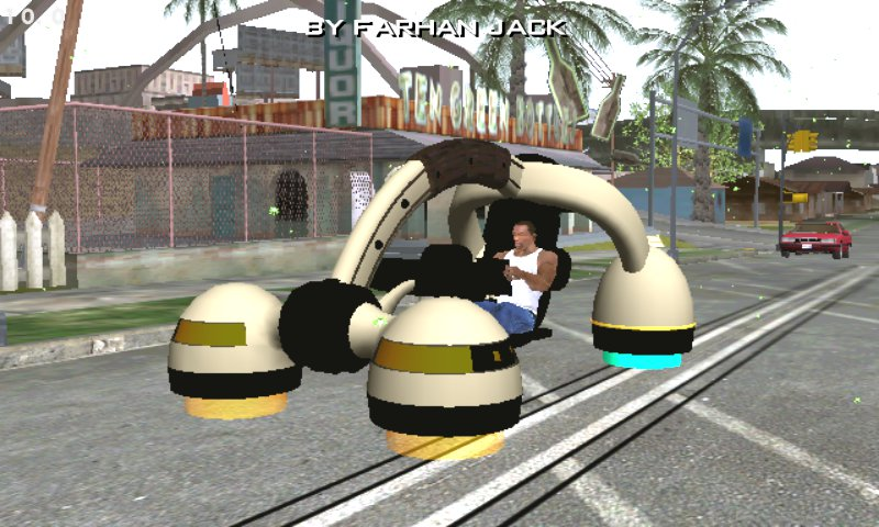 GTA San Andreas Bravura Ufo Dff Only No Txd For Mobile Mod
