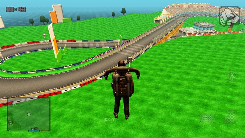 Gta San Andreas Mario Kart Wii Figure 8 Circuit Custom Track For