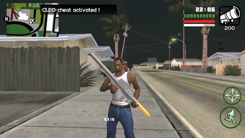 Menggunakan RPG di GTA San Andreas