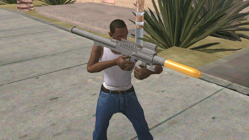 Cheat GTA San Andreas senjata