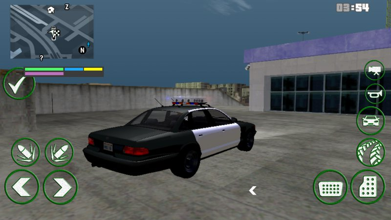 GTA San Andreas GTA IV Police dff only for Android Mod - MobileGTA net