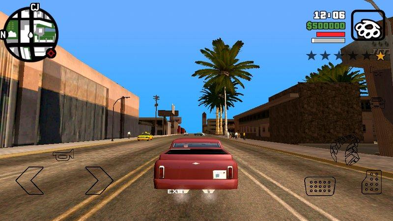 GTA San Andreas Camera of GTA V & GTA IV for Android Mod - MobileGTA net