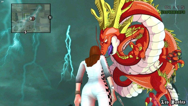 gta san andreas skybox dragon ball super hd no import mod