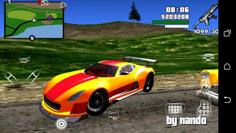GTA San Andreas GTA V Cyclone Only dff For Android Mod - MobileGTA net
