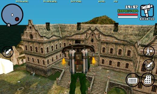 Pla Kaio Dragon Ball Z For Gta San Andreas Screenshot 4