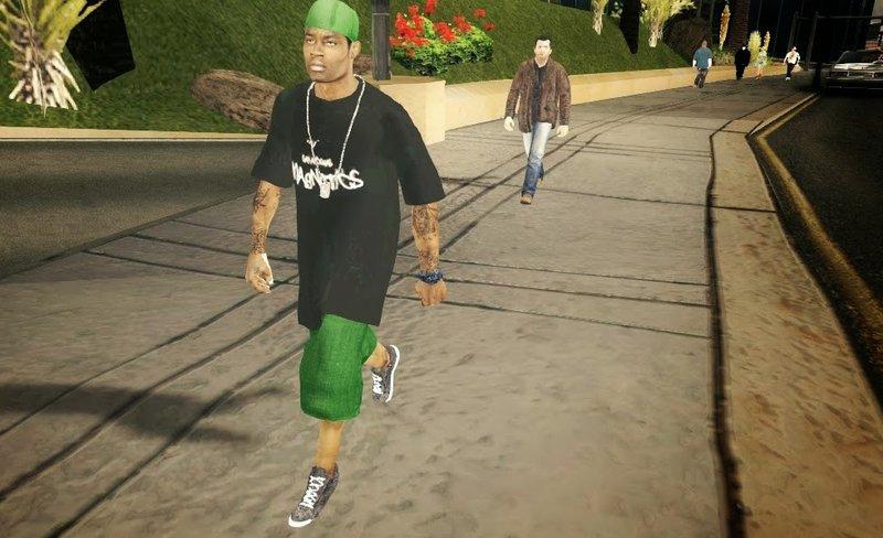 GTA San Andreas GTA V Pedestrians Pack for Mobile Mod - MobileGTA net