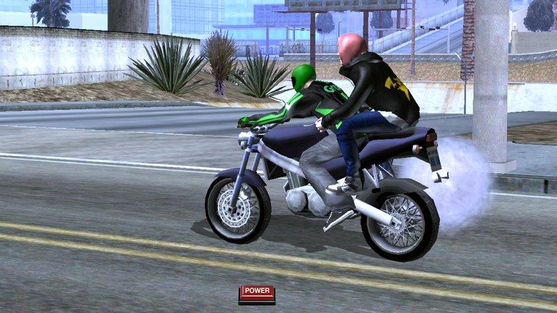 GTA San Andreas Jaket Grab Bike For Android Mod - MobileGTA net