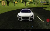 Audi R8 Tuned For Mobile
