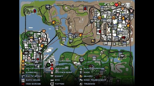 GTA San Andreas Savegames - Mods and Downloads - MobileGTA net
