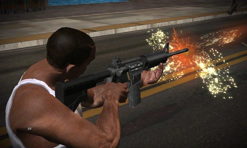 GTA San Andreas GTA IV Insanity Weapons, Items & Pickups Mixed For