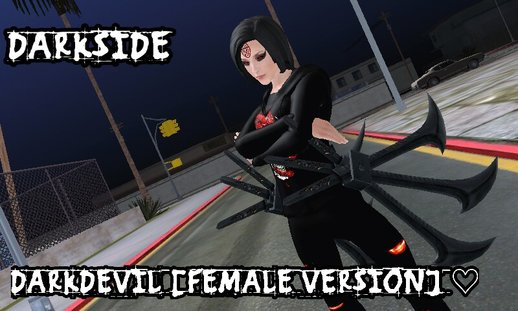 Devil Female Player Texture