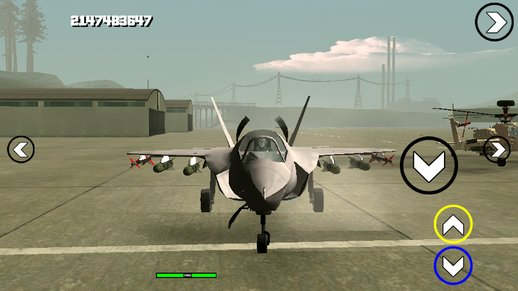 F-35 Hydra V2 Fix Dff Only