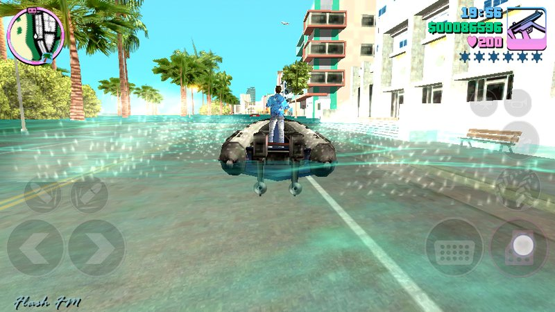 GTA Vice City Flood in GTA Vice City Mod for Android Mod