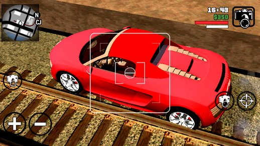 Audi R8 Car Only Diff On For Android
