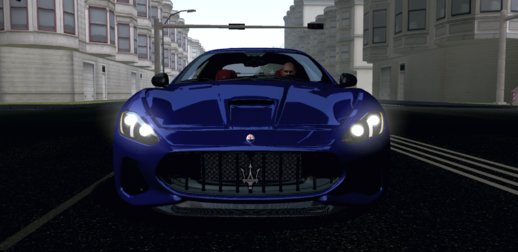 Maserati GranTurismo MC Stradale 2018 for Mobile