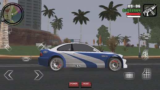 BMW M3 GTE NFS Mod for Android