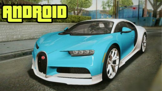 Buggati Chiron For Android