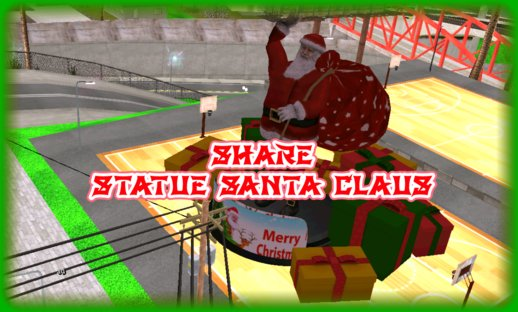 Statue Santa Claus for Mobile