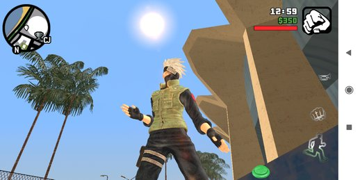 Kakashi Skin + Long Jump + New Fighting Style For Android