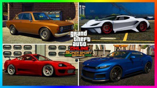 GTA V Super Sport Series Pack For Android