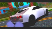 Nissan GTR50 2020 dff only