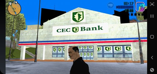 CEC Bank mod for GTA 3 Mobile