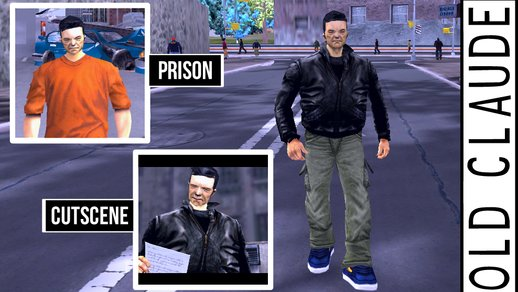 Old Claude Skin For GTA 3 Mobile