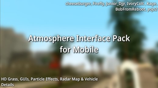 Atmosphere Interface Pack for Mobile