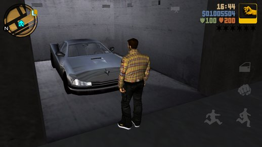 GTA 3 Main Mission Incomplete Bulletproof Cheetah Storage Box for Mobile