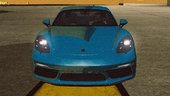 Porsche 718 Cayman S for Mobile